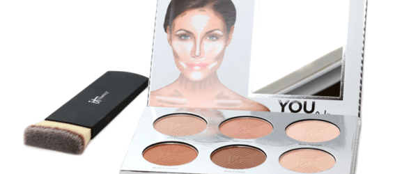 IT Cosmetics You Sculpted palette and brush