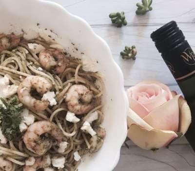 Shrimp And Pesto Pasta Recipe Using Contadi