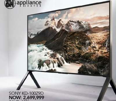 Epic Reaction For Sony KD-100Z9D TV PreOrder