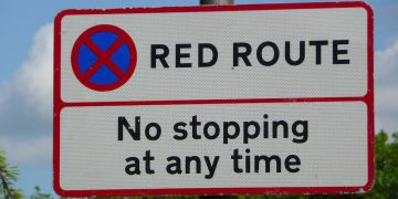 A red route needs to be implemented.