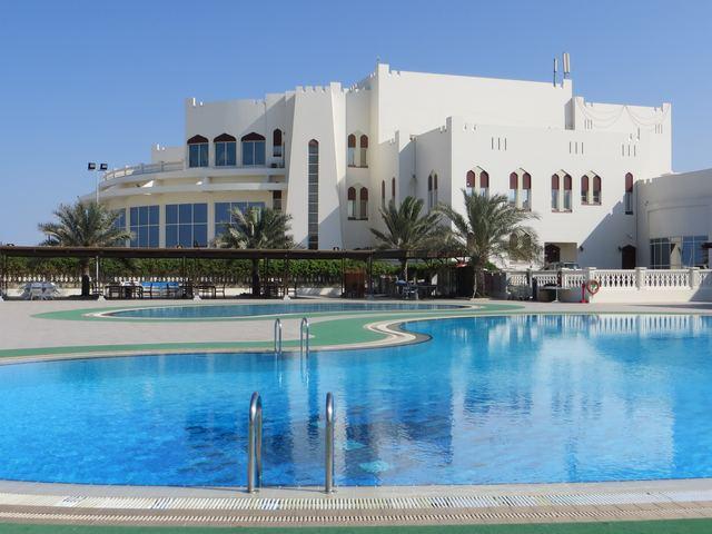 Al Shafaq Club, Muscat, Oman. Photo: Peninsularity Ensues.