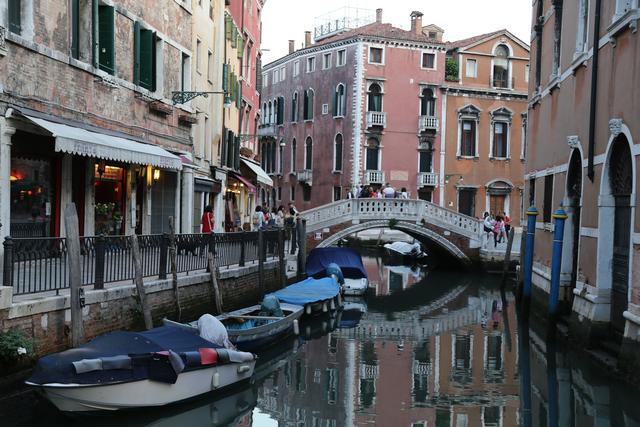 Venice... do these buildings look to you like they float? Photo: Peninsularity Ensues