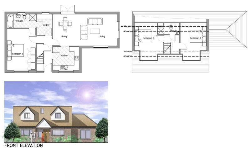 Interesting Sandbach Self Build Houses Pennine Timber Frame A Frame ...