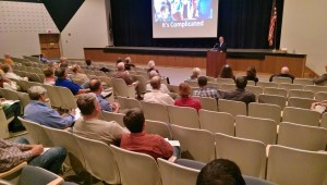 Superintendent Michael Leichliter talks about the high school's current condition.