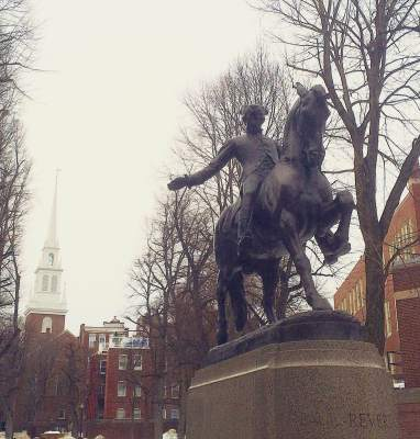SBT15- Paul Revere Statue