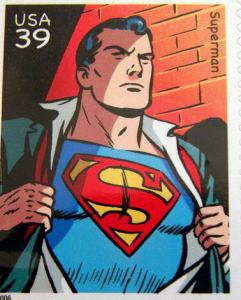 2006 Superman Stamp (Scotts 4084a), DC Comics Super Heros
