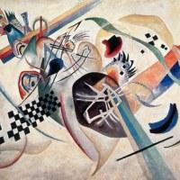 Composizione su bianco , 1920, olio su tela, San Pietroburgo, Museo di Stato Russo  © Wassily Kandinsky, by SIAE 2012