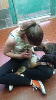 Serena e i cuccioli