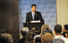 July 24, 2014: Rep. Paul Ryan's (R-WI) remarks as prepared for delivery at the American Enterprise Institute. (Photo: AEI)