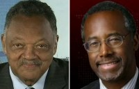 Dr. Ben Carson and Reverend Jesse Jackson appeared together on Fox News Sunday to offer insight into Ferguson from differing perspectives.