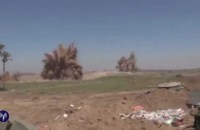 IDF video shows Israeli forces blow up terror tunnels Gaza.