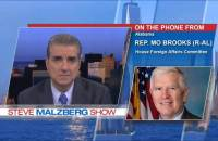 On the Steve Maltzberg show, Republican Rep. Mo Brooks (R-AL) stood by his claim that the Democrats are waging a war on whites.
