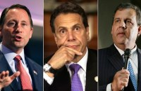 Rob Astorino, Andrew Cuomo and Chris Christie are shown in this composite. (Photos: AP/Getty)