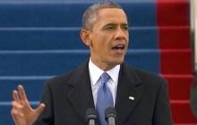 President Barack Obama makes his inaugural speech , in Washington D.C., Jan. 21, 2013. (Photo: AP)