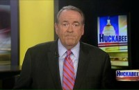 """Former Arkansas Gov. Mike Huckabee, now the host of """"The Huckabee Show"""" on Fox News, said Saturday that judicial supremacy is trampling the Constitution."""