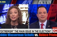 Are the President's policies on the ballot? RNC Chair Reince Priebus squares off against DNC Chair Debbie Wasserman Schultz on the 2014 midterm elections.