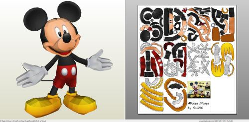 Medium Of Mickey Mouse Pictures