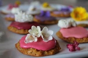 biscotti e fiori edibili 4