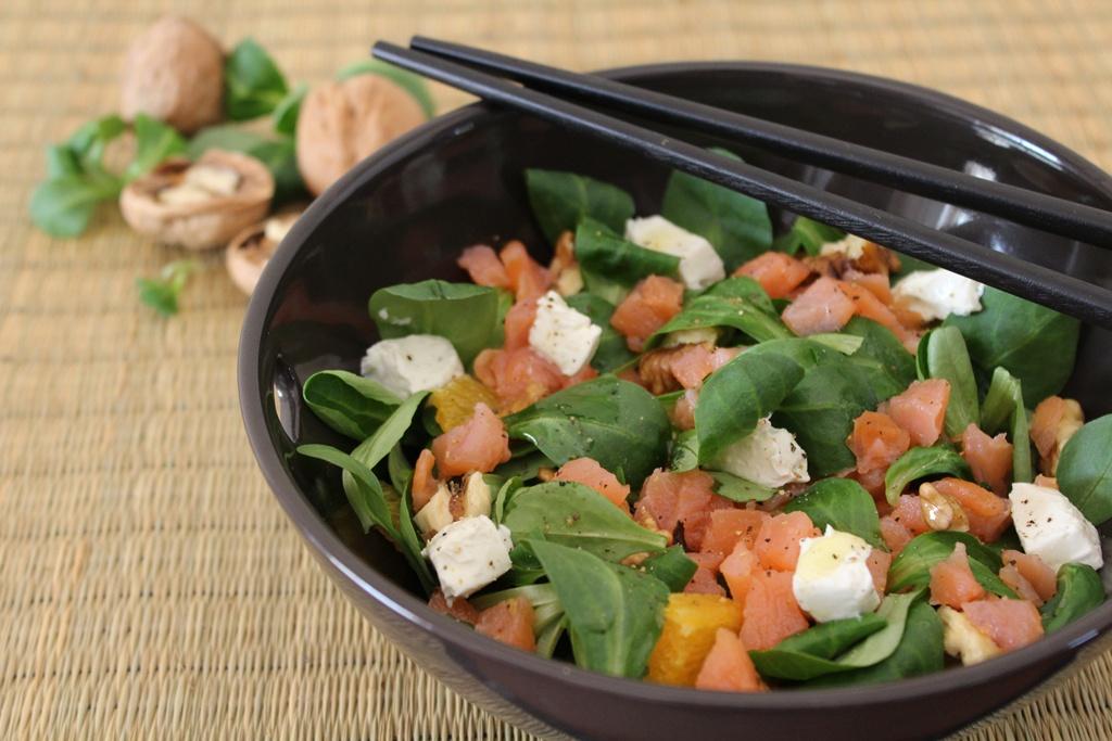 insalata salmone e noci  2