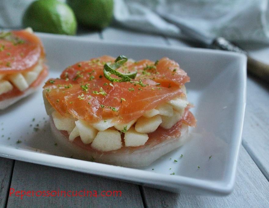Salmone e melone pp