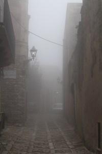 erice nebbia