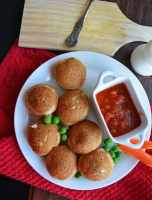 Pancake Paniyaram-Pancake Balls with Vegetables