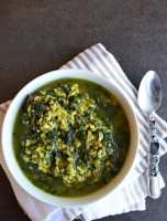 Spinach Keerai Kootu-Spinach with Lentils