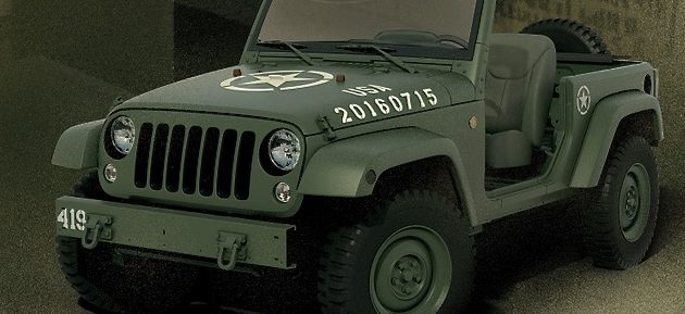 Jeep Wrangler 75º Salute