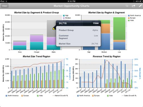 IBM Cognos iPad App
