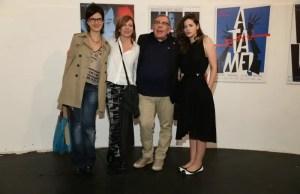 Andrea Bonelli, Cecilia Roth, Juan Gatti y Romina Ricci