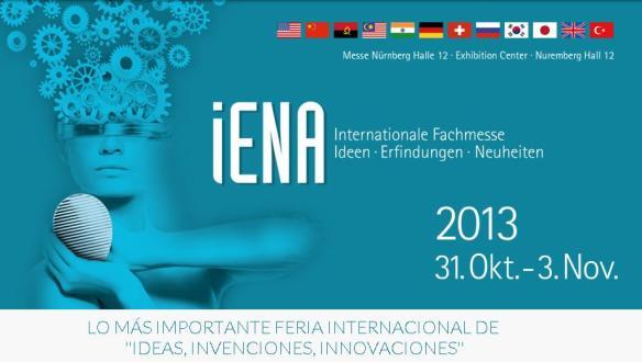 Feria internacional del inventor- IENA 2013