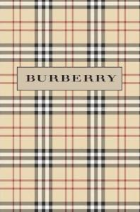 Tartán registrado Burberry