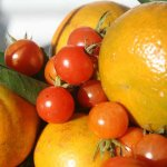 oranges and tomatoes