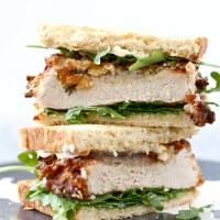 Buttermilk Sage Fried Pork Chop Sandwiches