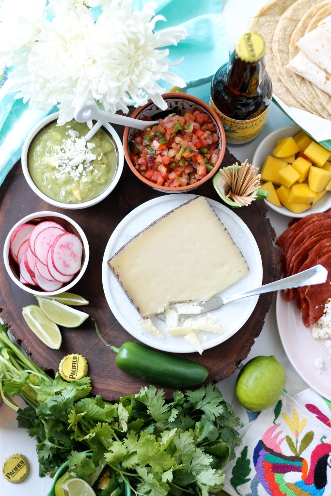 Cinco de Mayo Cheese Board