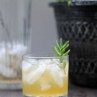 Pineapple Rosemary Sour