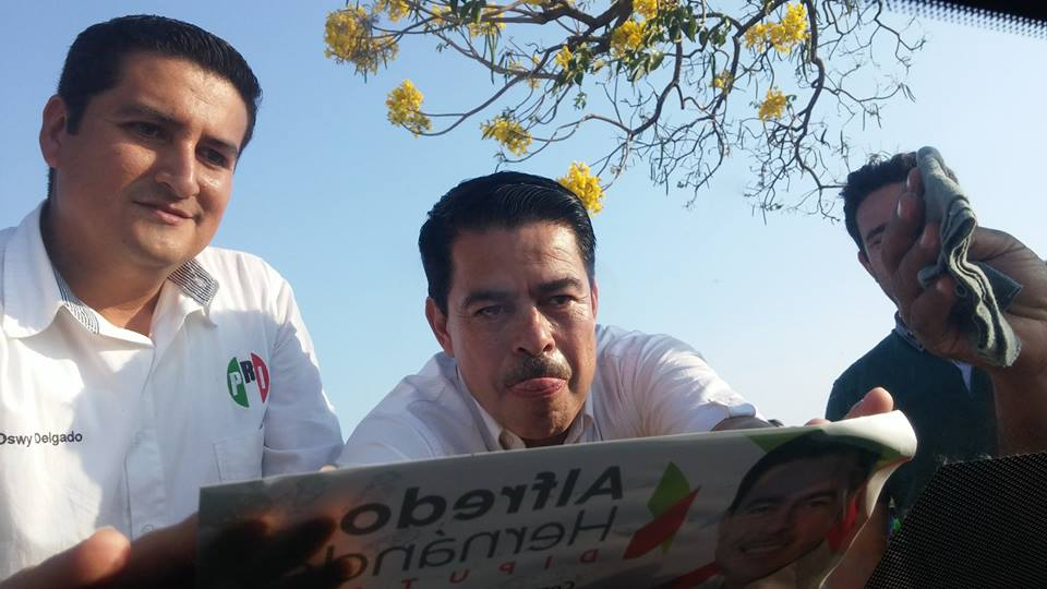 Cobra Alfredo Hernández como síndico, maestro y presidente del Panal