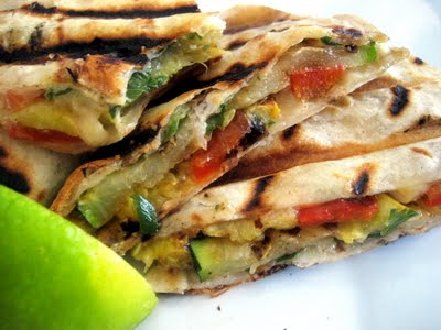 Paleo Vegetable Quesadillas