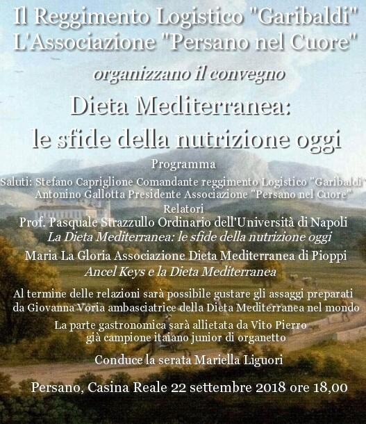 locandina bianca dieta mediterranea
