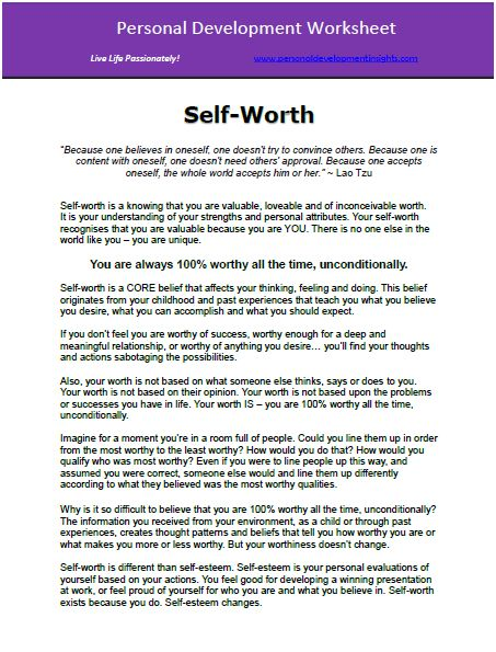 Worksheet Self Worth Worksheets ysabetwordsmith poem the law of life time management motivation thoughts on success six thinking hats and their applications self awareness satisfaction a stress diar
