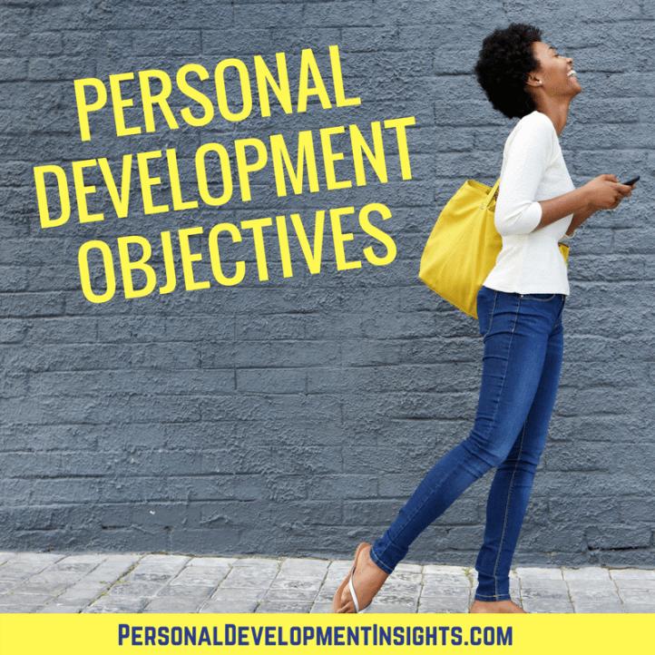 Personal Development Objectives