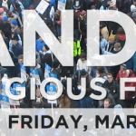 Stand Up for Religious Freedom, Friday, March 23, Noon – 1 PM in a City Near You