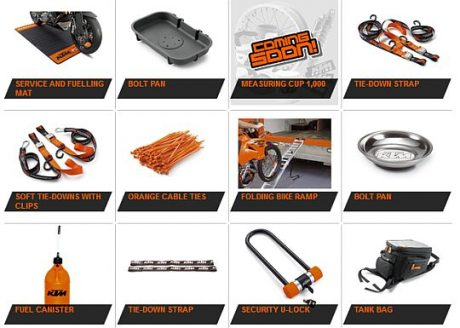 KTM DUKE Power Parts