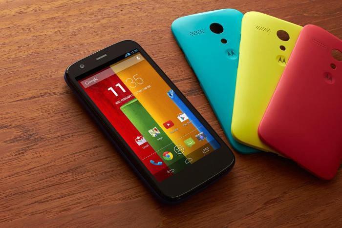Motorola y el problema de los nombres