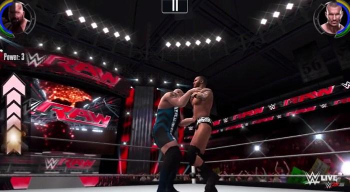 Llegan las luchas de WWE a nuestros smartphones