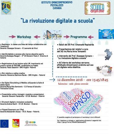Locandina La Rivoluzione Digitale a Scuola