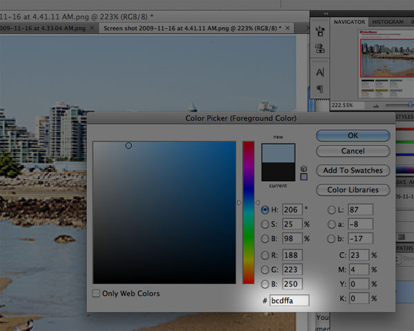 Extracting Web Colors from Photographs photoshoppicker