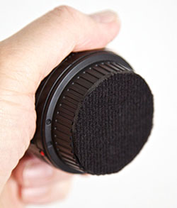 Padding Your Rear Lens Cap for Stacking rearcappad