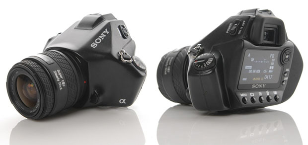 Sony a352 Concept DSLR Camera Design sonyconcept