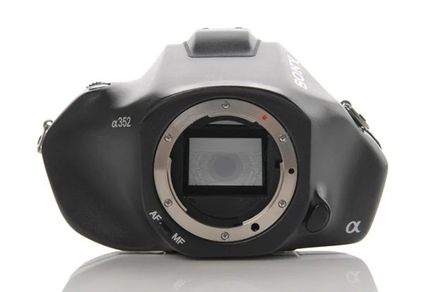Sony a352 Concept DSLR Camera Design sonyconceptfront